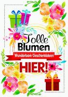 Tolle Blumen Poster