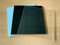 Acrylglas Platte   Zuschnitt   5mm stark   transparent   weiß   schwarz
