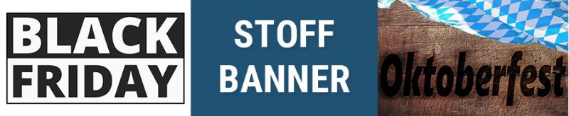 Banner für Stoffbanner