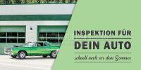 2:1 | Inspektion für dein Auto Plakat | Poster auch in DIN A 1 | 2 zu 1 Format