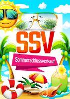 Sommerschlussverkauf Poster