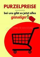 Purzelpreise Poster Werbung | Werbeplakat drucken lassen