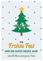 Frohes Fest Plakat