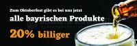 3:1 | Rabatt auf bayrische Produkte Poster | Poster auch in DIN A 1 | 3 zu 1 Format