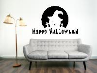 Happy Halloween Wandtattoo