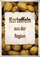 Kartoffeln aus der Region Werbeschild | Plakat kaufen
