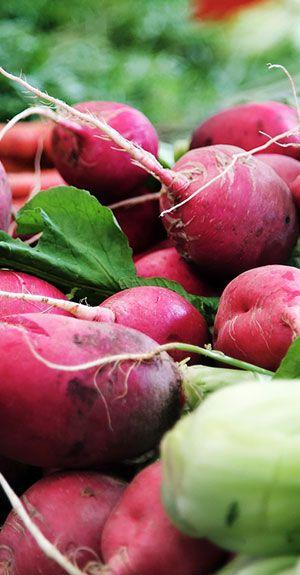 Frisches und natürliches Gemüse