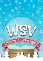 WSV Winterschlussverkauf Werbebanner | Plakat erstellen