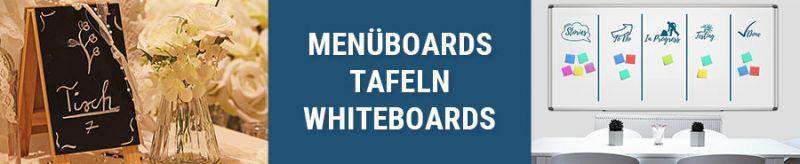 Banner für Menüboards, Tafeln und Whiteboards