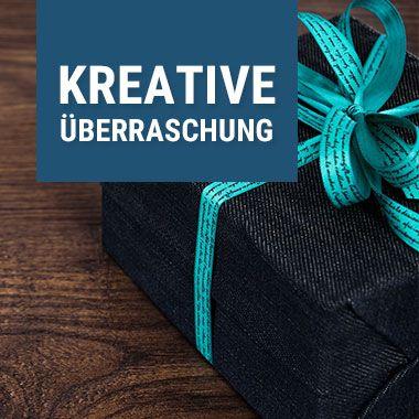 Denke dir eine kreative Überraschung für deine Kunden aus