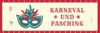 3:1 | Karneval und Fasching Werbeposter | Werbeplakat auch in DIN A 4 | 3 zu 1 Format