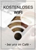 Kostenloses WIFI Plakat
