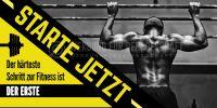 2:1 | Starte jetzt Poster | Werbeposter für Fitnessstudio | 2 zu 1 Format