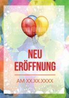 Neu Eröffnung Plakat | Werbeschild für Neueröffnungen