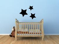 Drei Sterne Wandtattoo