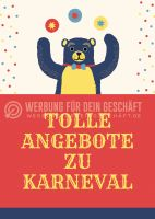 Tolle Angebote zu Karneval Plakat | Poster kaufen
