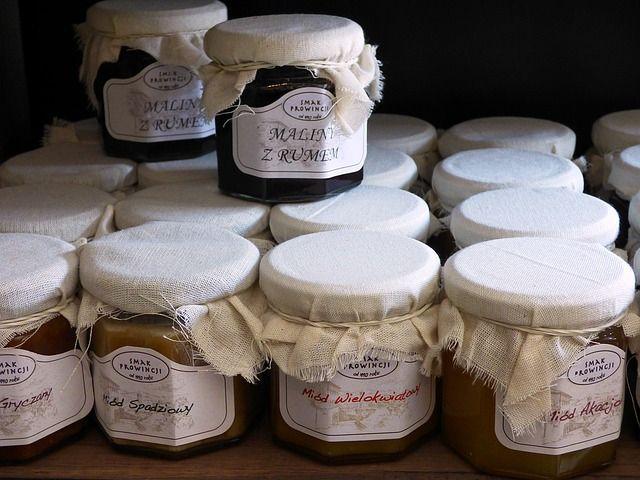 Honig und Marmelade als Werbegeschenk