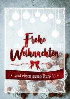 Frohe Weihnachten Plakat | Werbeplakat für Weihnachten