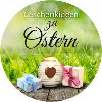 Rund | Geschenkideen zu Ostern Werbetafel | Plakat online drucken | Rundformat