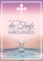 Alles für die Taufe Plakat | Werbeposter auch in DIN A 0