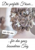 Friseur Plakat | Werbeplakat für Friseure