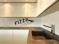 Wandtattoo Pizza