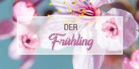 2:1 | Der Frühling Poster | Werbeschild für den Frühling | 2 zu 1 Format