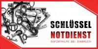 2:1 | Schlüssel Notdienst Plakat | Werbeschild für Schlüssel Notdienst | 2 zu 1 Format