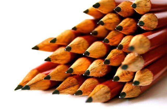 Jeder Zimmermann braucht einen Bleistift