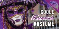 2:1 | Coole Karnevals Kostüme Poster | Plakat für Werbeaufsteller | 2 zu 1 Format