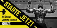2:1   Starte jetzt Poster   Werbeposter für Fitnessstudio   2 zu 1 Format