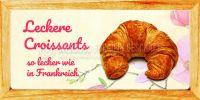 2:1   Leckere Croissants Poster   So lecker wie in Frankreich   2 zu 1 Format