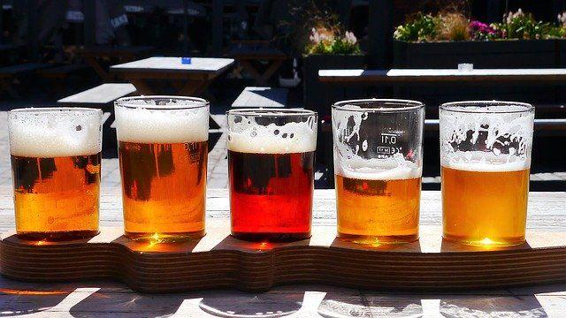 Bier wird gerne getrunken