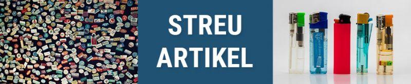 Banner für Streuartikel