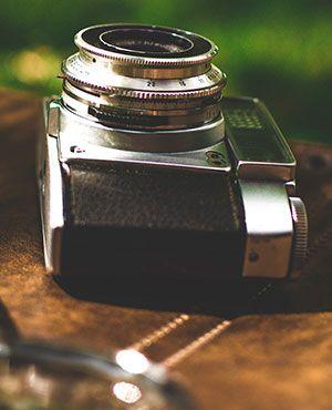 Traditionelle Fotos mit alter Kamera - Warum nicht?
