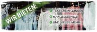 3:1   Reinigungsservice Plakat   Werbeplakat für Textilreinigung und mehr   3 zu 1 Format