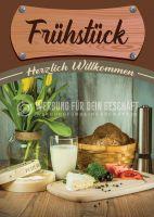 Frühstück Poster