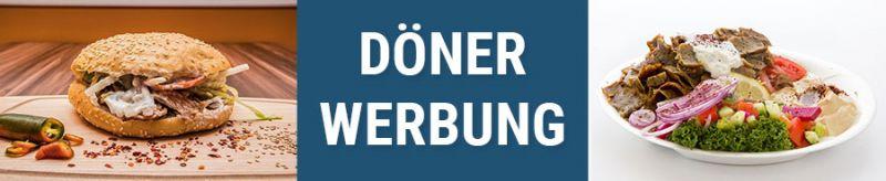 Banner für Dönerwerbung