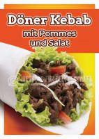 Döner Kebab Poster | Werbebanner für Imbiss