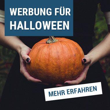 Werbung für Halloween