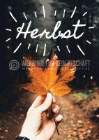 Herbst Poster | Werbeposter für den Herbst