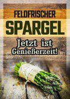 Feldfrischer Spargel Poster