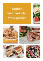 Wechselnder Mittagstisch Poster | Plakate hier kaufen