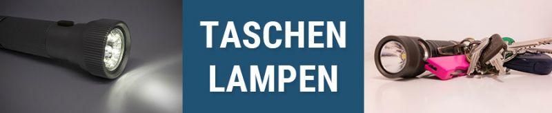 Banner für Taschenlampen